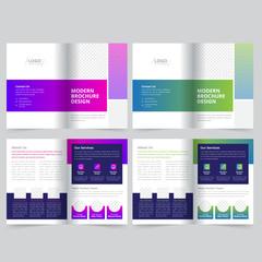 Business Bifold Brochure Template