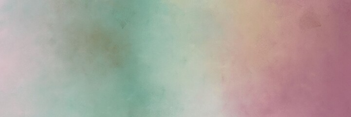 horizontal vintage abstract painted background with dark gray, antique fuchsia and light slate gray colors and space for text or image. free space for text or graphic
