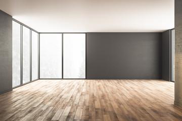 Obraz Modern interior with window - fototapety do salonu