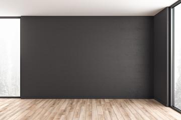 Minimalistic interior room