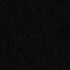 black rain overlay isolated realistic rain visual effect on black night abstract