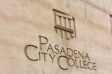 Pasadena City College Logo and Sign