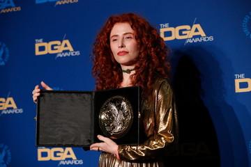 "Alma Har'el, director of ""Honey Boy"" poses at the 72nd Annual Directors Guild Awards in Los Angeles"