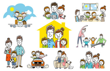People Set: Fun Family, Collection