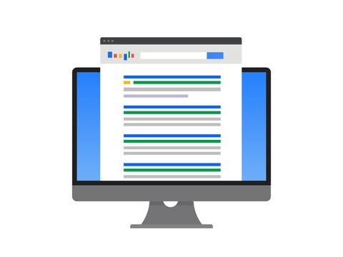 Search Result - SEO Concept