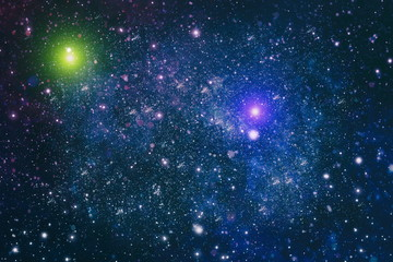 Keuken foto achterwand Heelal Deep space background with stardust and shining star. Milky way cosmic background.