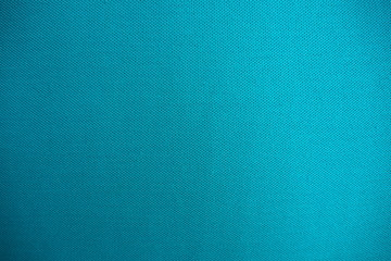 Closeup of beautiful quality cotton mixed with polyester fabric in blue and turquoise tone for textile texture and background. Cool banner on page and cover Fotomurales