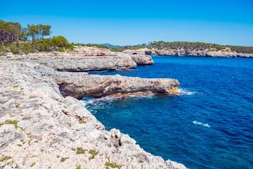 The coast of Mallorca Fotomurales