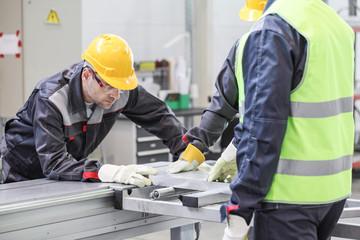 Machine.metal processing worker