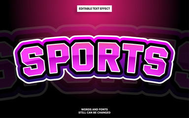 Wall Mural - Esports logo text effect