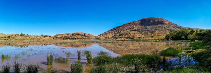 Anja national park landscape, Madagascar