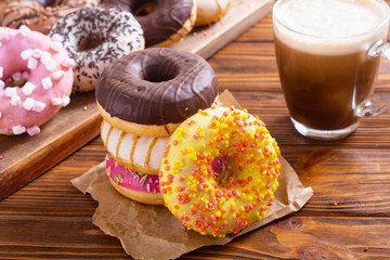 Beauty assorted donuts