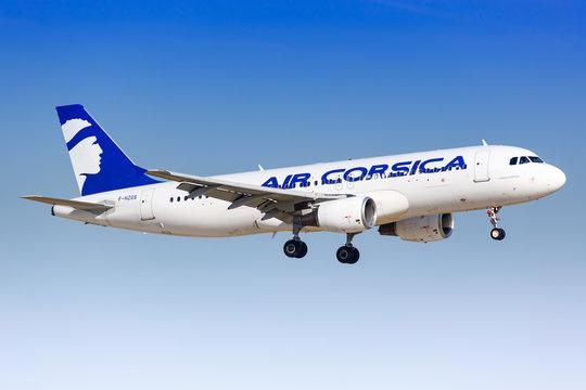 Air Corsica Airbus A320 airplane