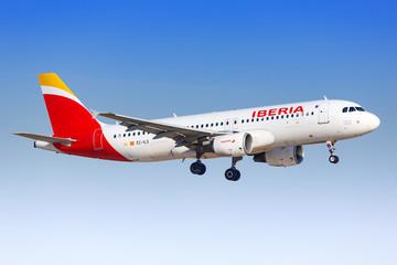 Iberia Airbus A320 airplane