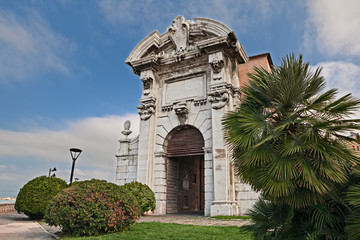 Ancona, Marche, Italy: the ancient city gate Porta Pia