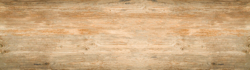 old brown rustic light bright wooden texture - wood background panorama banner long Fotomurales