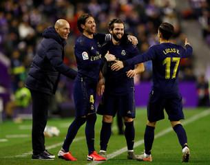 La Liga Santander - Real Valladolid v Real Madrid
