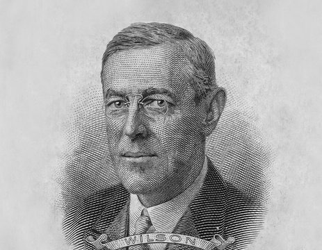Woodrow Wilson President Portrait