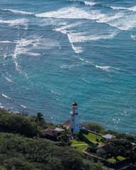 Lighthouse at Diamond Head Honolulu Hawaii