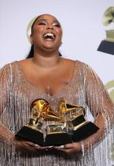 62nd Grammy Awards – Photo Room – Los Angeles, California, U.S., January 26, 2020 - Lizzo