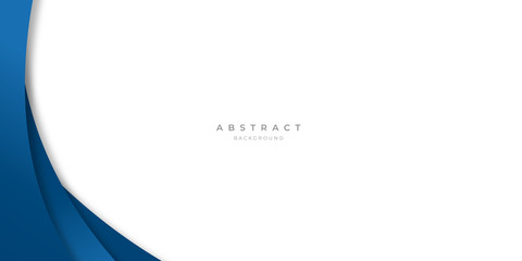 Foto auf Gartenposter Abstrakte Welle Modern blue abstract curve lines background for presentation design, banner, brocure, and business card