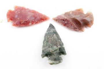 handmade arrowheads