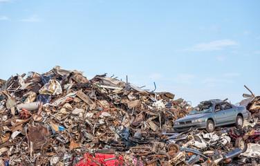 scrap yard