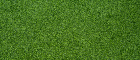 Deurstickers Groene green grass background, football field