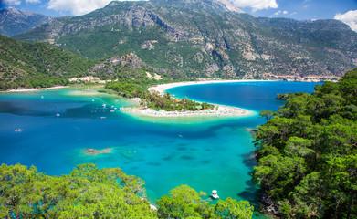 Wall Murals Beach Blue lagoon in Oludeniz, Turkey