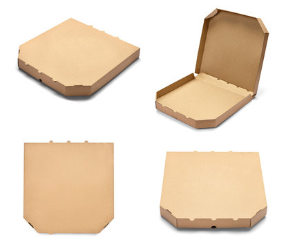 pizza box food cardboard delivery package