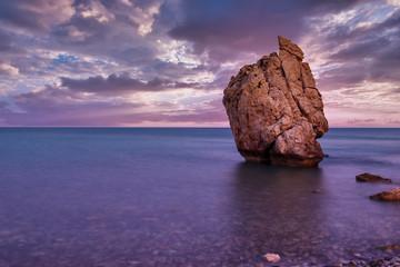 Photo sur Aluminium Chypre Aphrodite's Rock in Cyprus