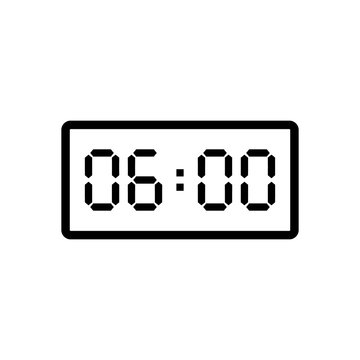 Digital clock template (PSD)   PSDGraphics   Clock template, Clock numbers,  Cool digital clocks