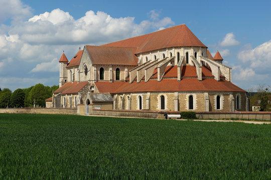Pontigny Abbey, in France.