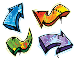 Graffiti design elements