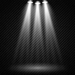 In de dag Licht, schaduw Vector Spotlights. Scene. Light Effects. Vector illustration