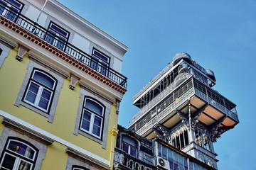 The Santa Justa Lift in Lisbon
