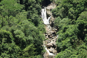 Papiers peints Rivière de la forêt waterfall located in the Serra do Mar State of São Paulo