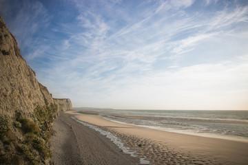 plage du cap blanc-nez à Escalles Fotobehang