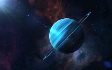 Planet Uranus. Fotomurales