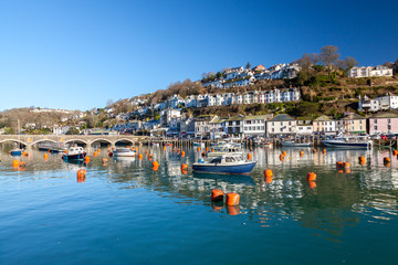 Looe Cornwall England UK Europe