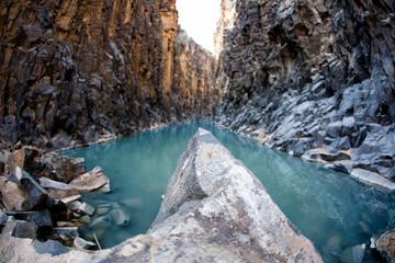 Wadi Hidan Canyon