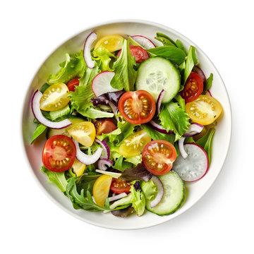 Bowl of healthy vegetable  salad