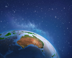 Wall Mural - Australia from space