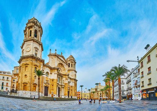 Monumental Cathedral of Cadiz, Spain
