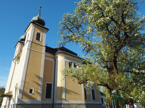 Salzkammergut - Kirche am Mondsee
