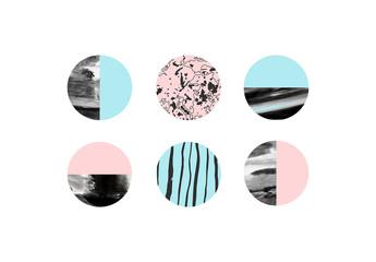 Icon Set of Abstract Circles