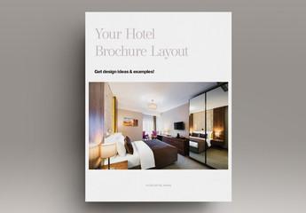 Hotel Brochure Layout