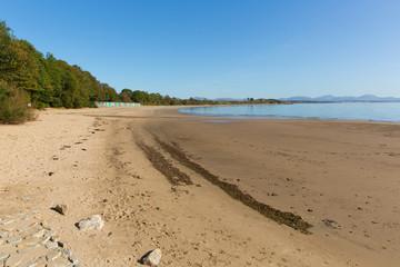 Llanbedrog beach Llyn peninsula Gwynedd Wales between Pwllheli and Abersoch