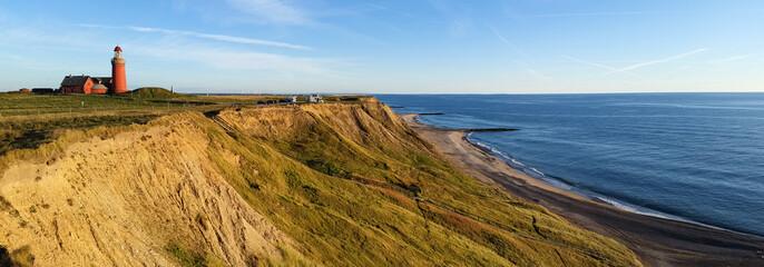 Foto op Canvas Honing Lighthouse in Denmark. Bovbjerg Fyr.