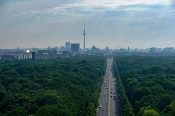 Foto op Canvas Berlijn PANORAMIC VIEW OF BUILDINGS AGAINST CLOUDY SKY